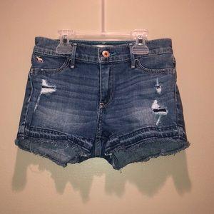 Abercrombie denim shorts girls